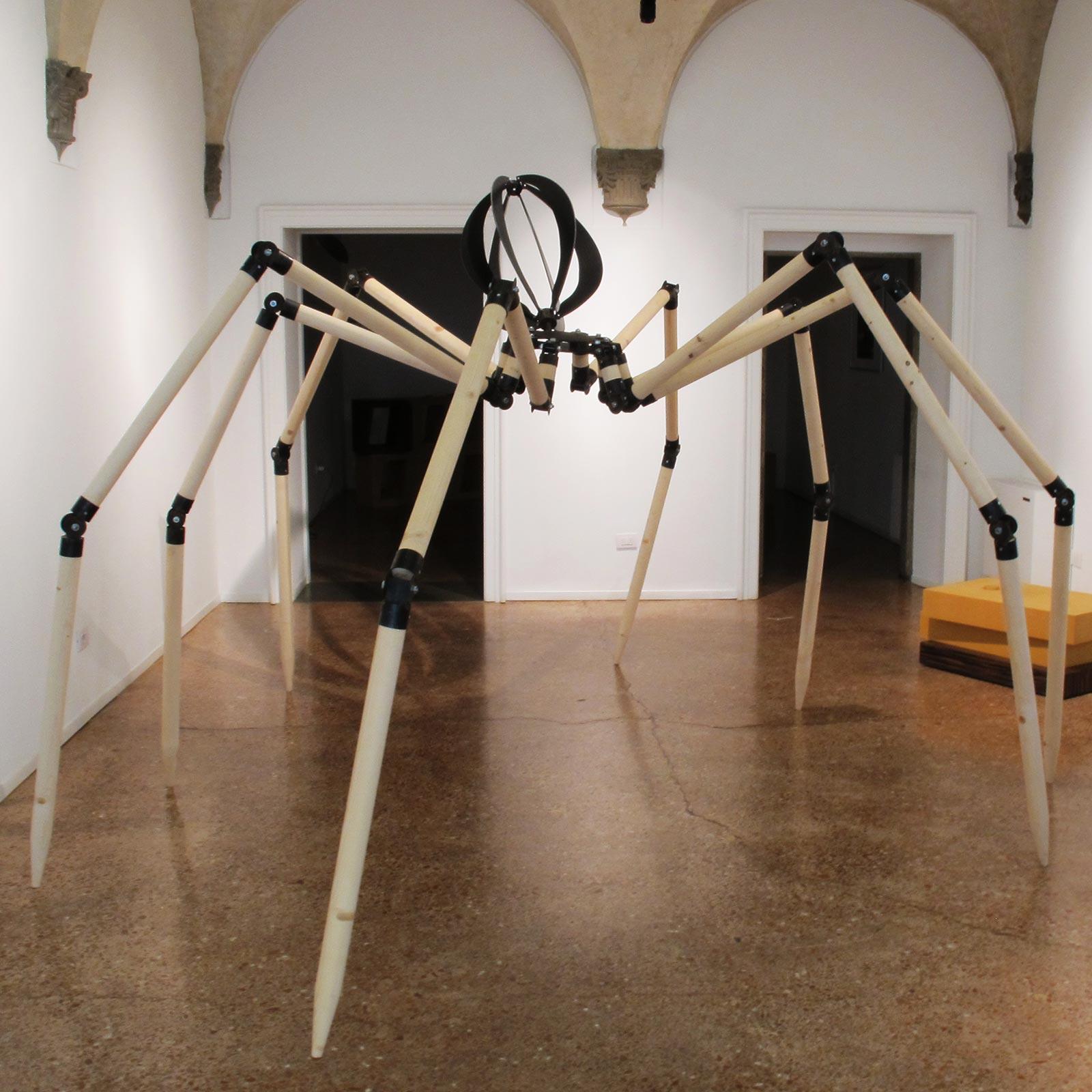 0-Gabriele-Mallegni,-Aracnide,-2012