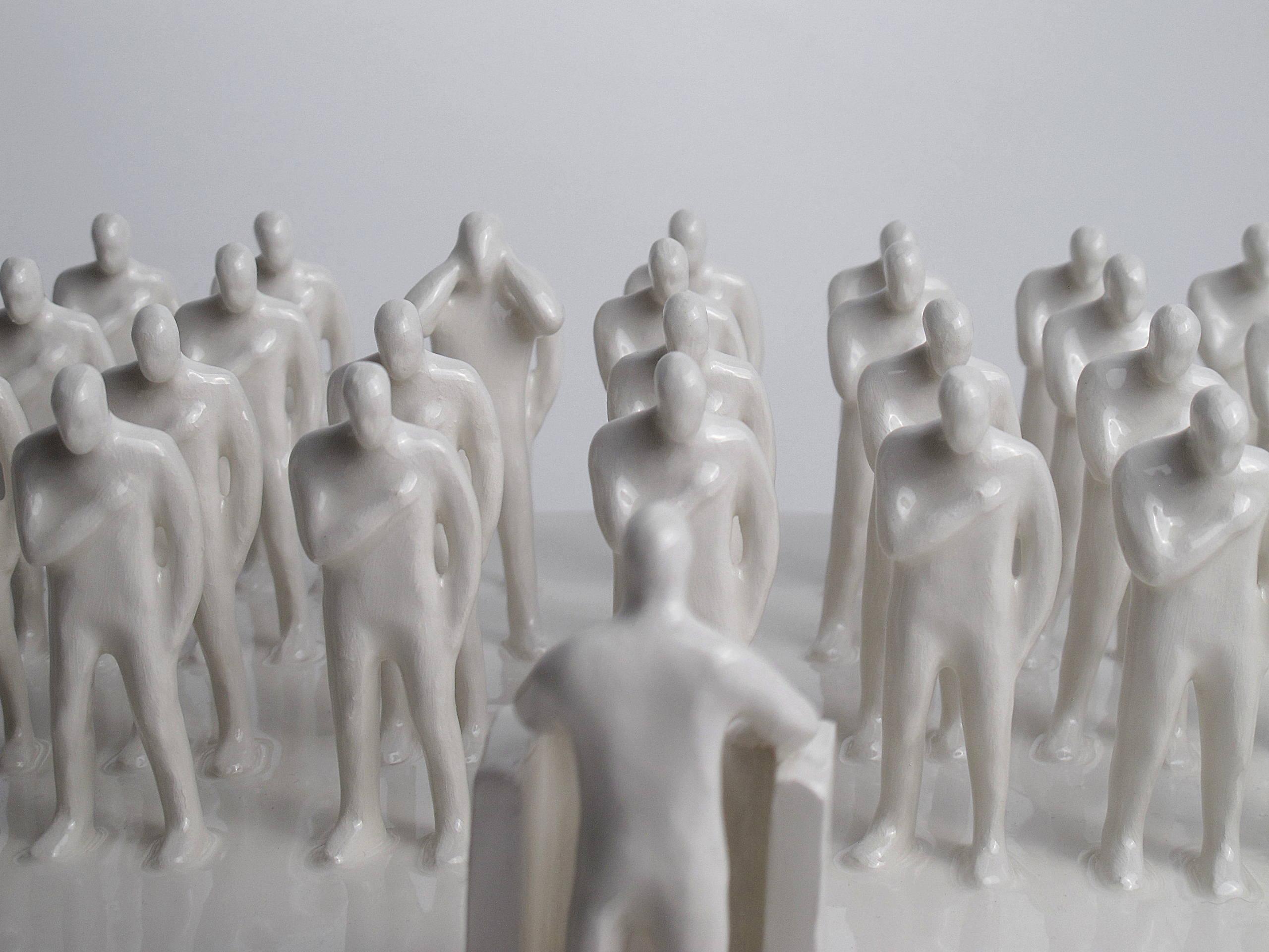 Gabriele Mallegni, No listen box, particolare, 2020