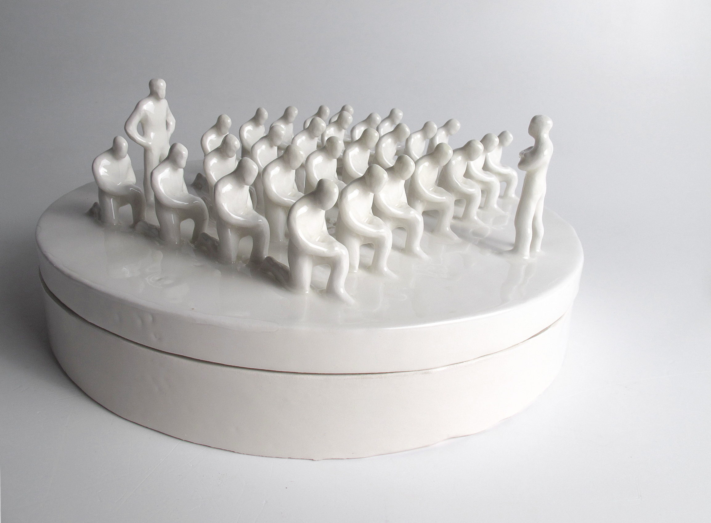 Gabriele Mallegni No obey box contemporary art ceramic