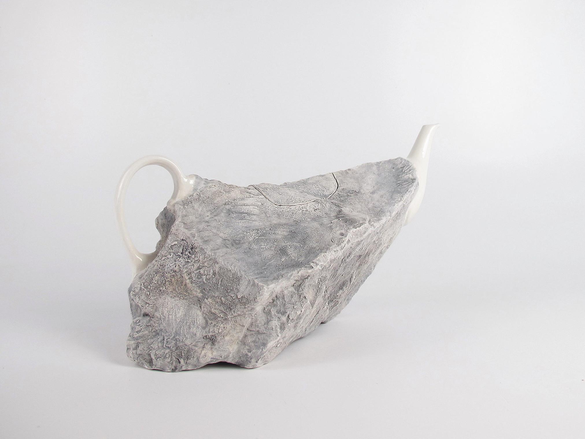 rock jug art project ceramic contemporary art Studio17 Lapidaria