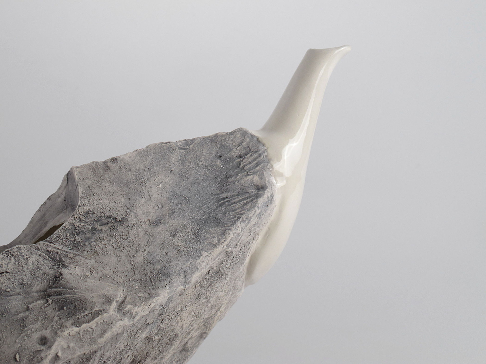 Rock Jug lapidaria contemporary art ceramic contemporary artists Caterina Sbrana Gabriele Mallegni