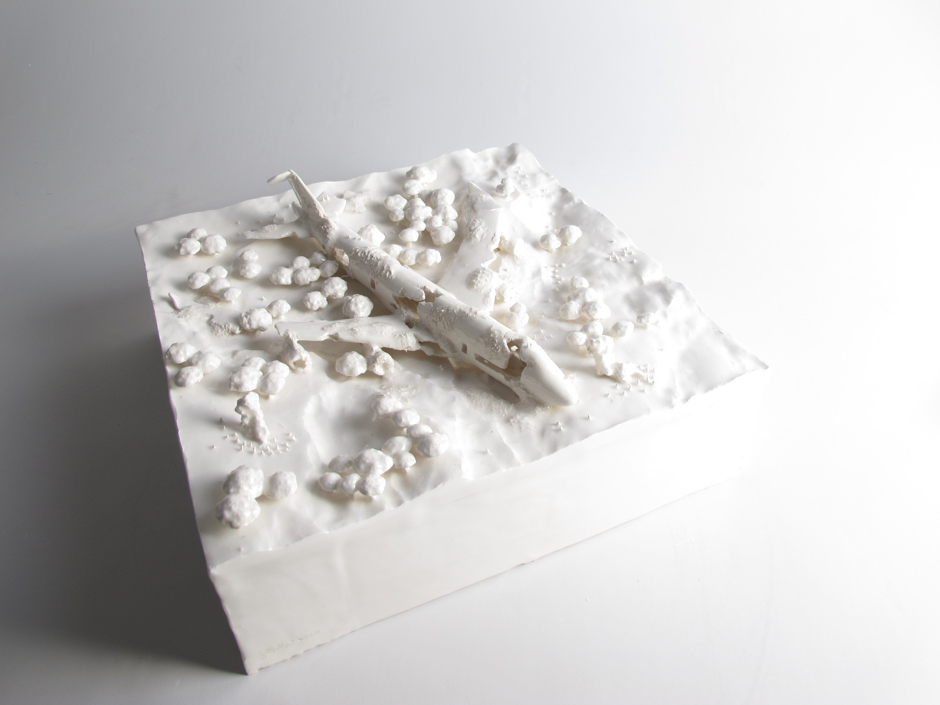 Wreckage Gabriele Mallegni 2020 conteporary sculpture